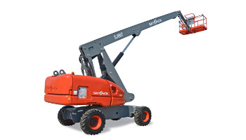 45 ft. telescopic boom lift rental in Colorado Springs