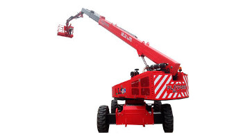 60 ft. telescopic boom lift rental in Colorado Springs